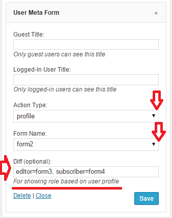 img-01: role based user profile as widget