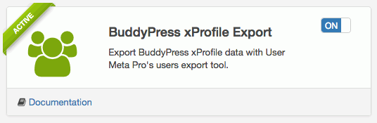 img-01: BuddyPress xProfile Export