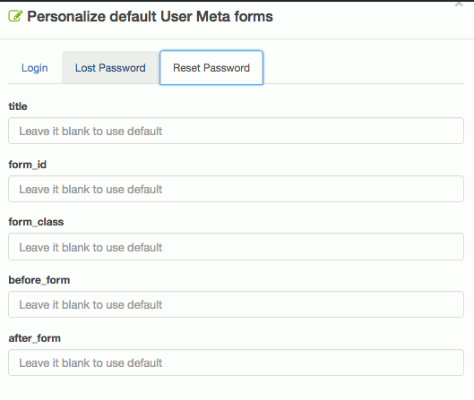 img-04: personalize default reset password form