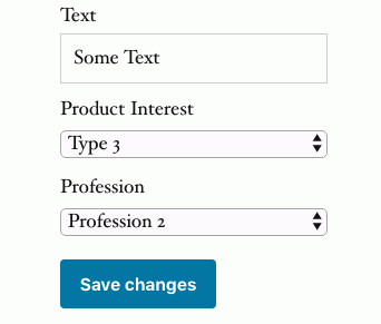 extra fields in WooCommerce profile form